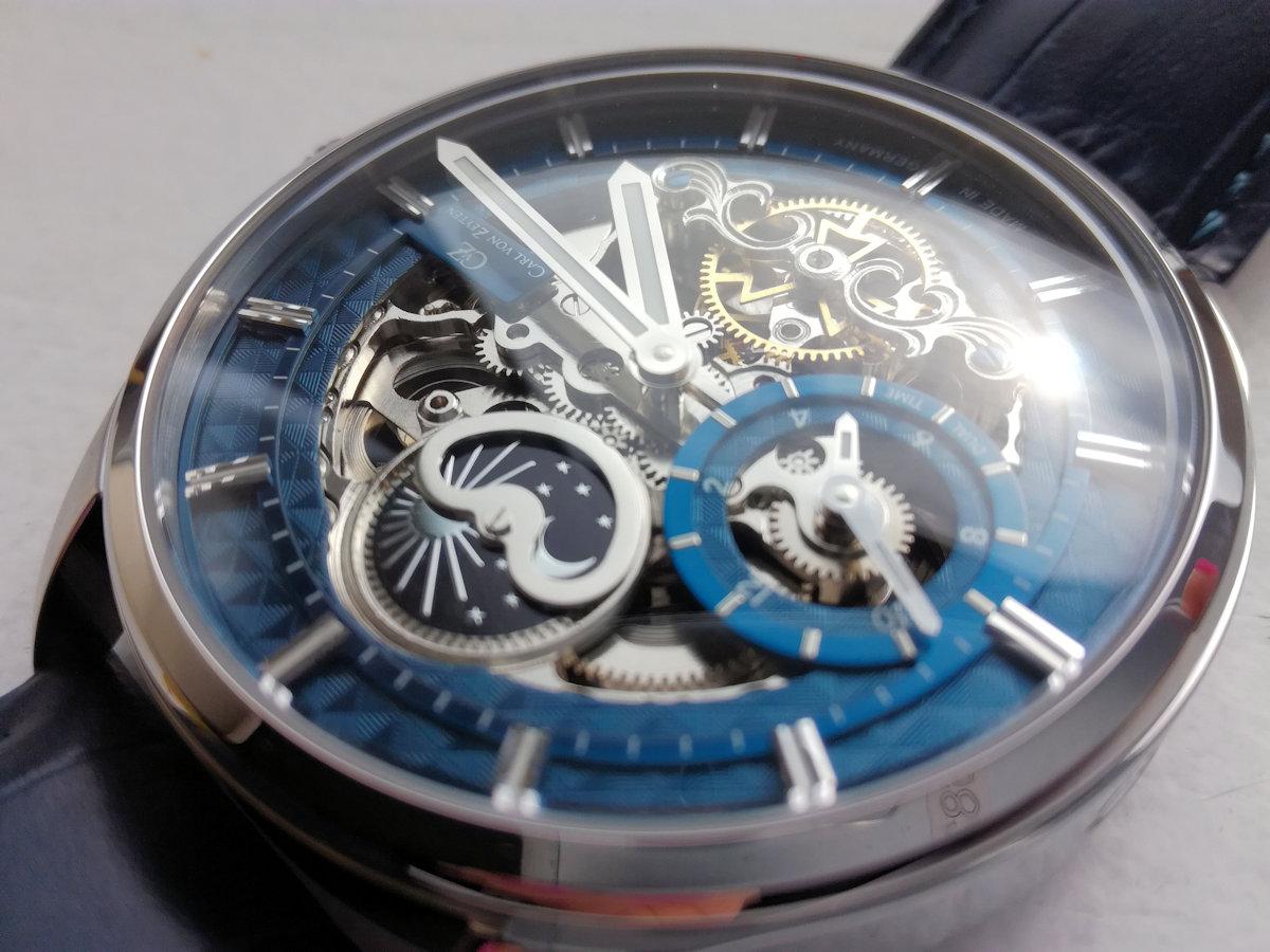 Tarcza zegarka szkieletowego