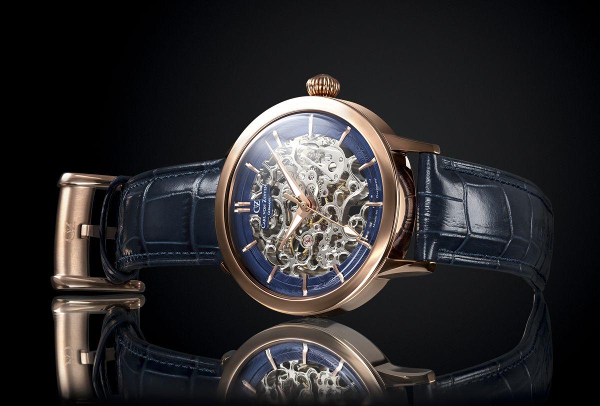 Zegarek szkieletowy - TRIBERG